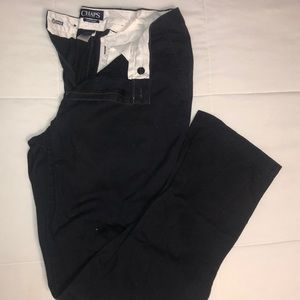 Navy CHAPS trousers